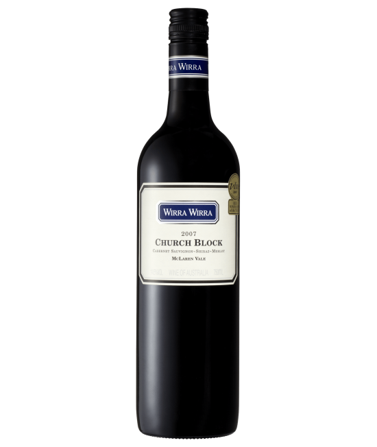 2007 Wirra Wirra Church Block Cabernet Sauvignon Shiraz Merlot (12 bottles)